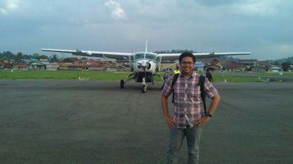 Temindung Airport, Samarinda, circa 2014