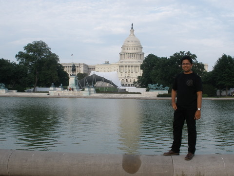 Capitol Reflecting Pool, Capitol Hill, Washington DC, circa 2011