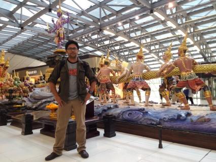 Svarnabhumi International Airport, Bangkok, 2015