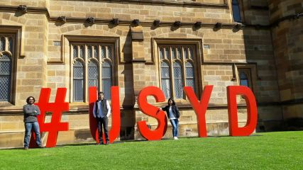 The Quadrangle, USYD, Sydney, 2016